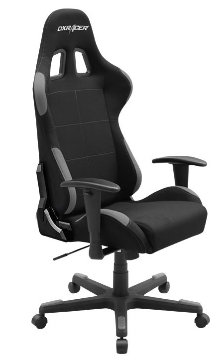 fotel DXRACER OH/FD01/NG tekstylny gallery main image