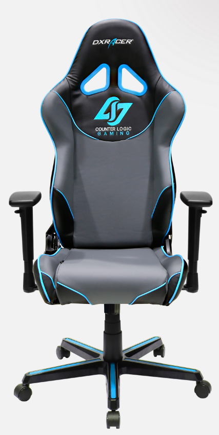 fotel DXRACER OH/RZ129/NGB/CLG gallery main image